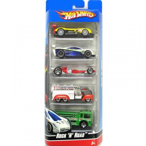 Voitures Hot Wheels - Set de 5 voitures : Coffret 22 - Mattel-1806-R7661