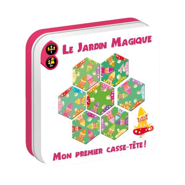 mon premier casse t te le jardin magique jeux et jouets iello avenue des jeux. Black Bedroom Furniture Sets. Home Design Ideas