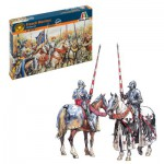 Figurines 1/72 : Chevaliers français