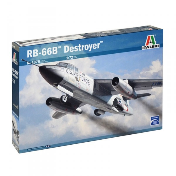 Maquette avion militaire : RB-66B Destroyer - Italeri-1375