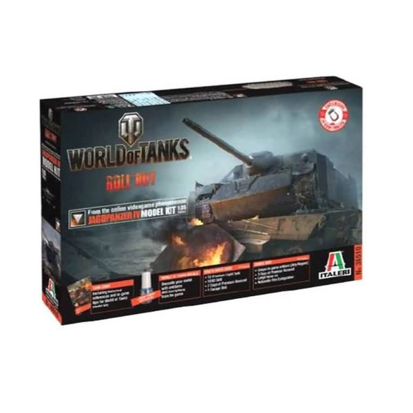 Maquette Char : World of Tanks - Jagdpanzer IV - Italeri-36510