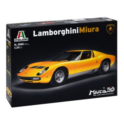 maquette de voiture lamborghini miura italeri rue des maquettes. Black Bedroom Furniture Sets. Home Design Ideas
