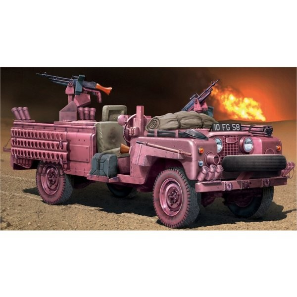 "Maquette S.A.S. Recon Vehicle ""Panthère Rose"" - Italeri-6501"