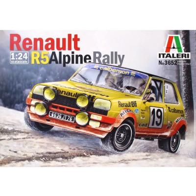 maquette voiture renault r5 alpine rally jeux et jouets italeri avenue des jeux. Black Bedroom Furniture Sets. Home Design Ideas