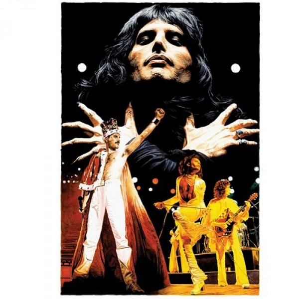 Puzzle 1000 pièces - The Legends Collection : Freddie Mercury - Hamilton-2005