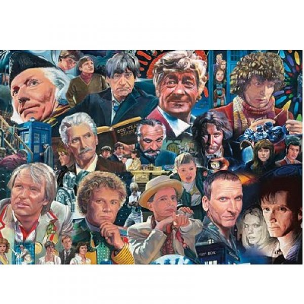 Puzzle 1000 pièces - The Legends Collection : Docteur Who - Hamilton-2012
