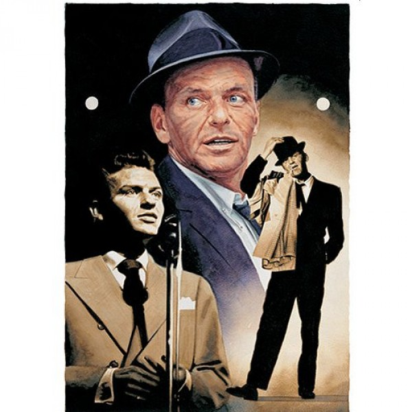 Puzzle 1000 pièces - The Legends Collection : The voice Frank Sinatra - Hamilton-2002