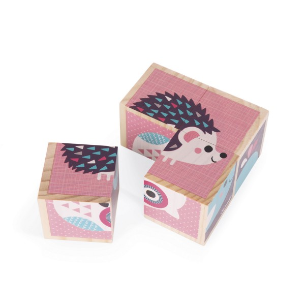 cubes en bois mes premiers cubes b b s animaux jeux. Black Bedroom Furniture Sets. Home Design Ideas