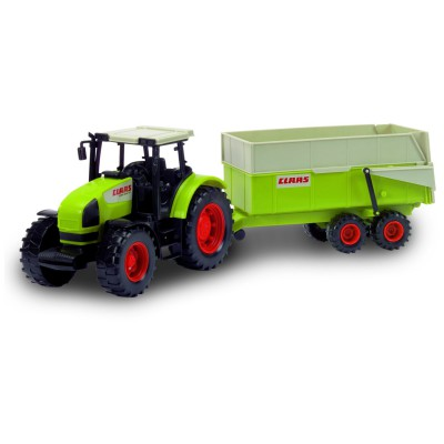 tracteur claas avec remorque john world le lutin rouge. Black Bedroom Furniture Sets. Home Design Ideas