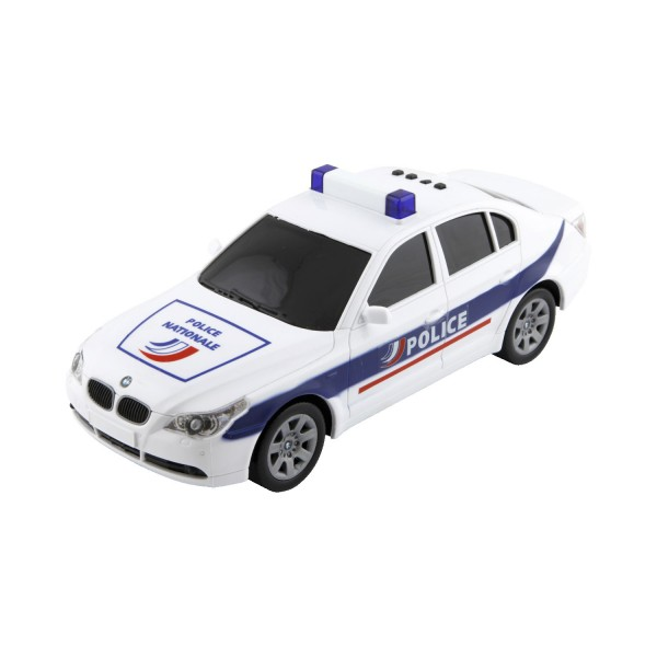 Voiture de police interactive : BMW - Johnworld-JW203353554FR-BMW
