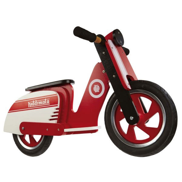 Draisienne Scooter : Red Stripe - Kiddimoto-410