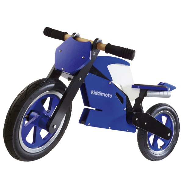 Draisienne Superbike : Blue / White - Kiddimoto-115