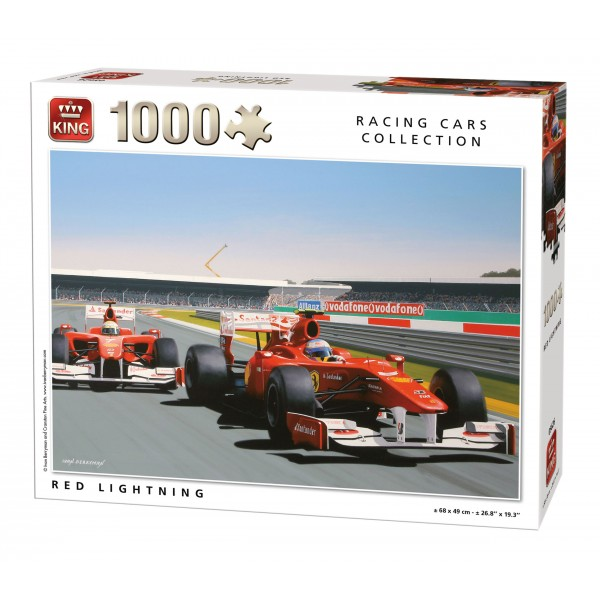 1000 Cars Rouge Puzzle Racing CollectionVoiture Pièces dBCxeWro