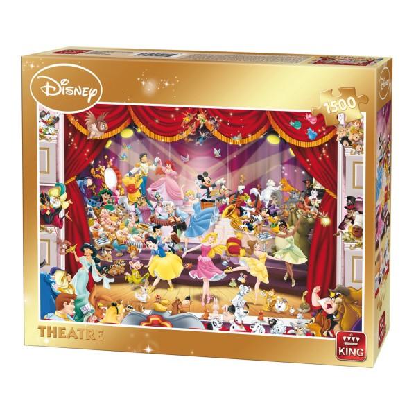 Théâtre Disney Puzzles Jouets Puzzle Jeux Et 1500 PiècesLe King wOkn0P8