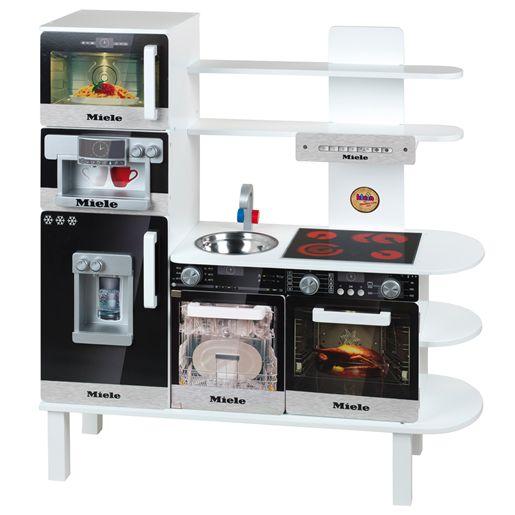 cuisine en bois miele grand mod le jeux et jouets klein avenue des jeux. Black Bedroom Furniture Sets. Home Design Ideas