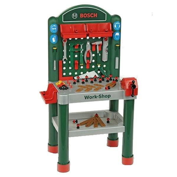 etabli bosch work shop jeux et jouets klein avenue des jeux. Black Bedroom Furniture Sets. Home Design Ideas