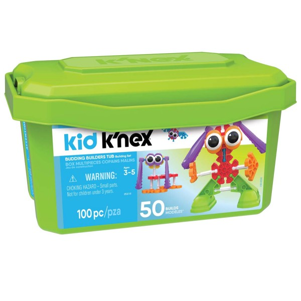 Jeu de construction Kid Knex Collect'Box ; Copains malins - Knex-85618
