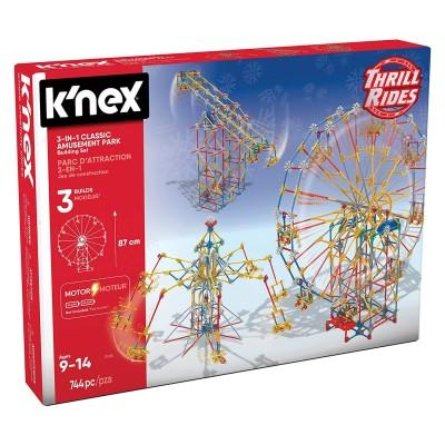 jeu de construction k 39 nex thrill rides parc d 39 attraction 3 en 1 knex rue des maquettes. Black Bedroom Furniture Sets. Home Design Ideas