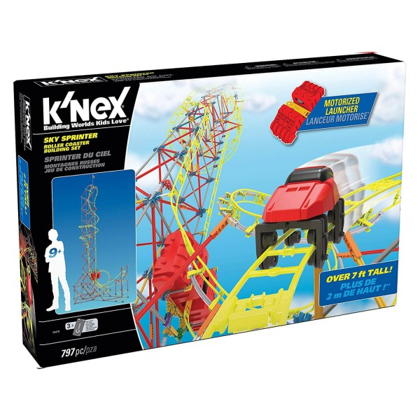 Jeu de construction K'nex : Thrill Rides : Sprinter du ciel - Knex-52478