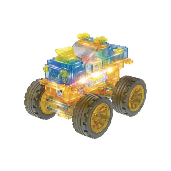 Briques de construction : Laser Pegs 6 en 1 : Super Monster Truck - Templar-JOLZSMON6