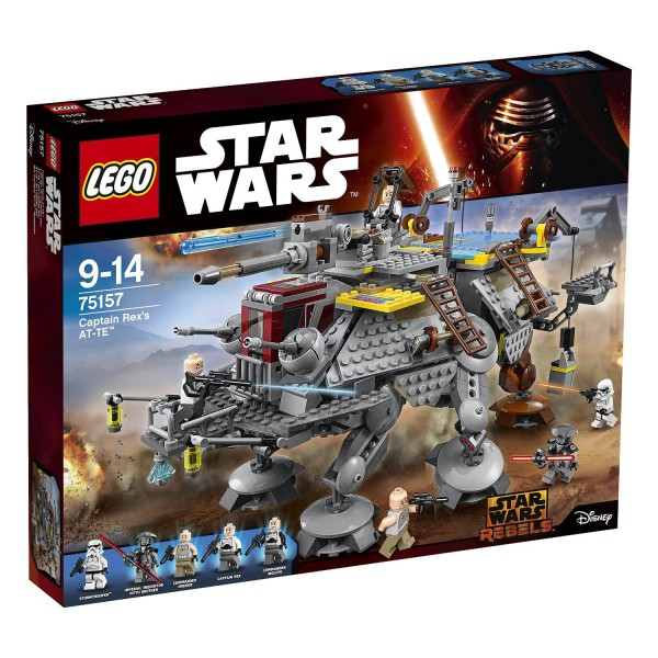 Lego 75157 Star Wars : L'AT-TE du Capitaine Rex - Lego-75157
