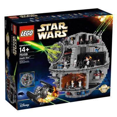 Lego 75159 star wars l 39 toile noire lego rue des maquettes - L etoile noire star wars ...
