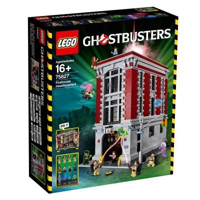 Lego 75827 Expert Le Qg Des Ghostbusters Jeux Et