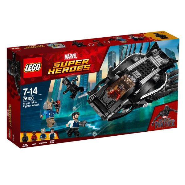 LEGO® 76100 Marvel Super Heroes™ : L'attaque du Faucon Royal - Lego-76100