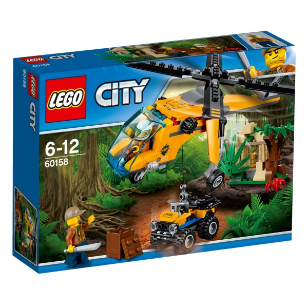 LEGO® 60158 City™ : L'hélicoptère cargo de la jungle - Lego-60158