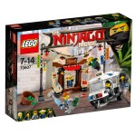 LEGO® 70607 The Ninjago Movie™ : La poursuite dans la ville