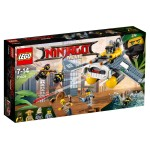 LEGO® 70609 The Ninjago Movie™ : Le bombardier Raie Manta