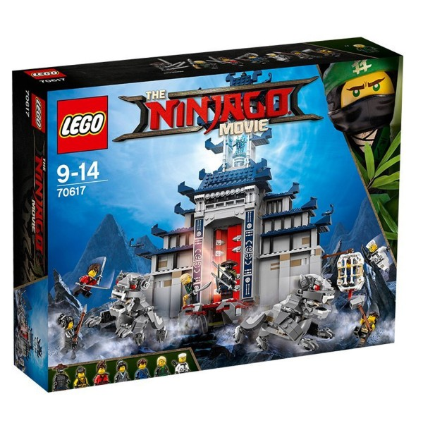 LEGO® 70617 The Ninjago Movie™ : Le temple de l'arme ultime suprême - Lego-70617