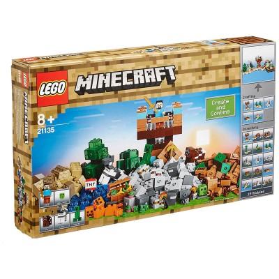 lego 21135 minecraft la bo te de construction 2 0 jeux et jouets lego avenue des jeux. Black Bedroom Furniture Sets. Home Design Ideas