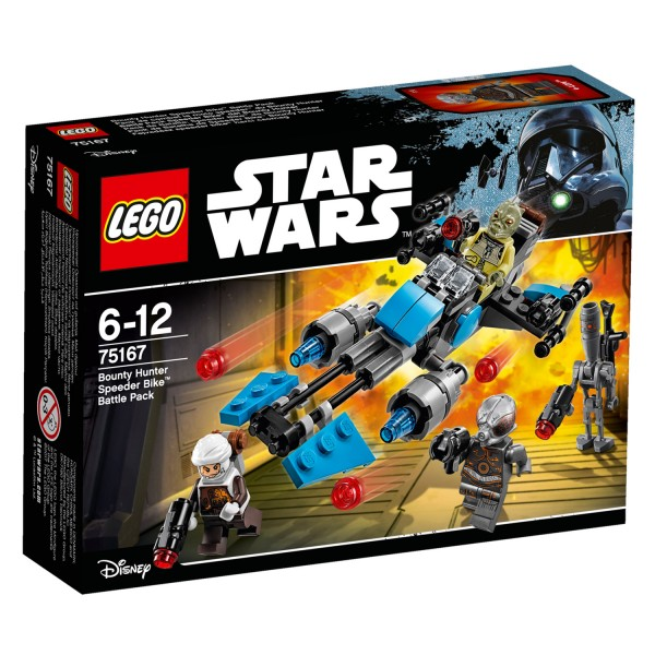 LEGO® 75167 Star Wars™ : Pack de combat la moto speeder™ du Bounty Hunter - Lego-75167