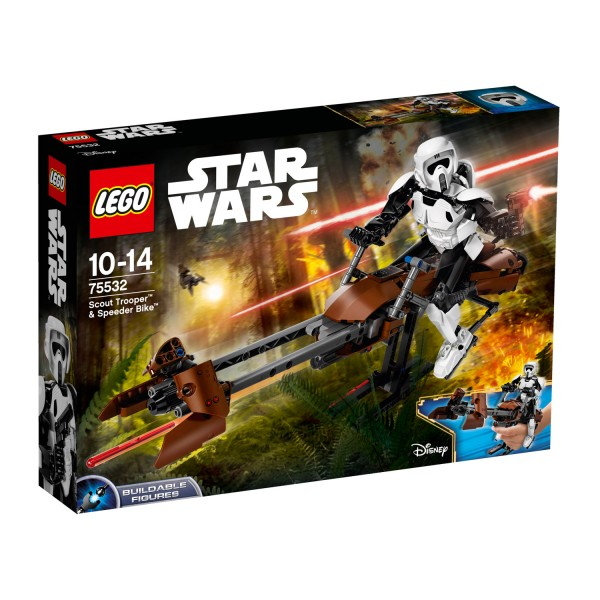 LEGO® 75532 Star Wars™ : Scout Trooper™ & Speeder Bike™ - Lego-75532