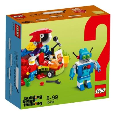 lego 10402 classic les jeux du futur jeux et jouets lego avenue des jeux. Black Bedroom Furniture Sets. Home Design Ideas