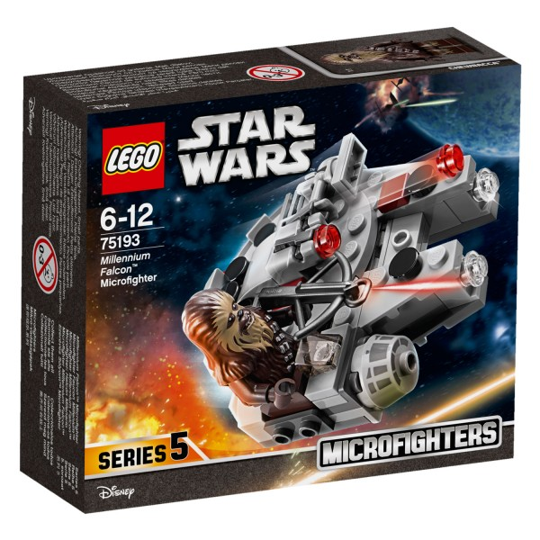 LEGO® 75193 Star Wars™: Microfighter Faucon Millenium™ - Lego-75193