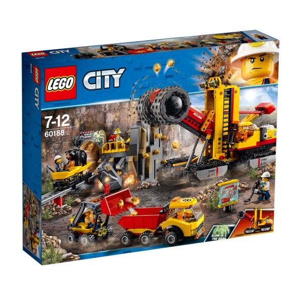 LEGO® 60188 City™ : Le site d'exploration minier - Lego-60188