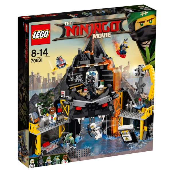LEGO® 70631 The Ninjago Movie™ : Le repaire volcanique de Garma - Lego-70631