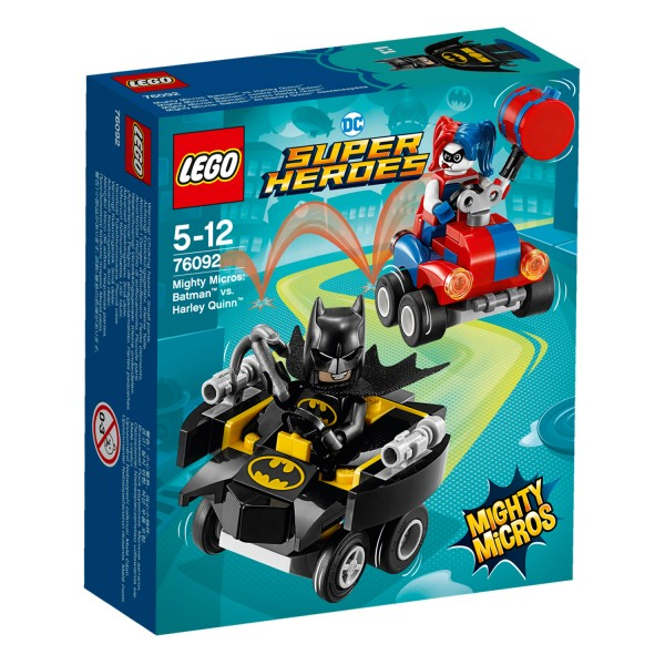 LEGO® 76092 DC Comics Super Heroes™: Mighty Micros : Batman™ contre Harley Quinn™ - Lego-76092