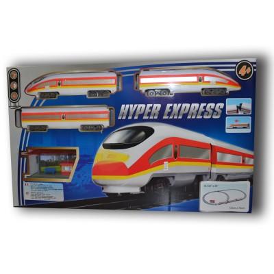circuit de train lectrique hyper express jeux et jouets lgri avenue des jeux. Black Bedroom Furniture Sets. Home Design Ideas