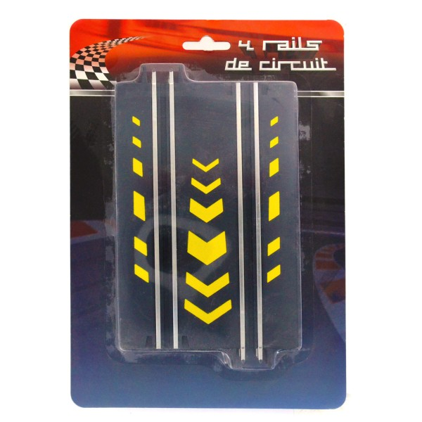 Circuit de voiture : Rails de circuit : Droits - LGRI-GB1223-2