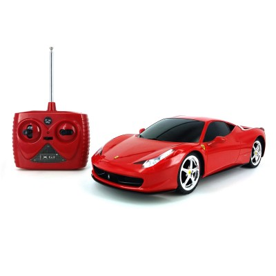 voiture radiocommand e rc 1 18 sport car ferrari 458 italia jeux et jouets lgri avenue des. Black Bedroom Furniture Sets. Home Design Ideas