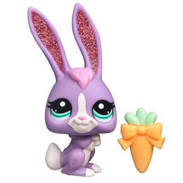 Figurine Petshop single : Lapin - Hasbro-93731-36543