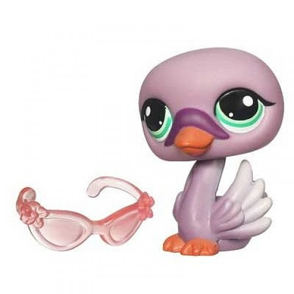 Petshop single - Cygne - Hasbro-93670-94457