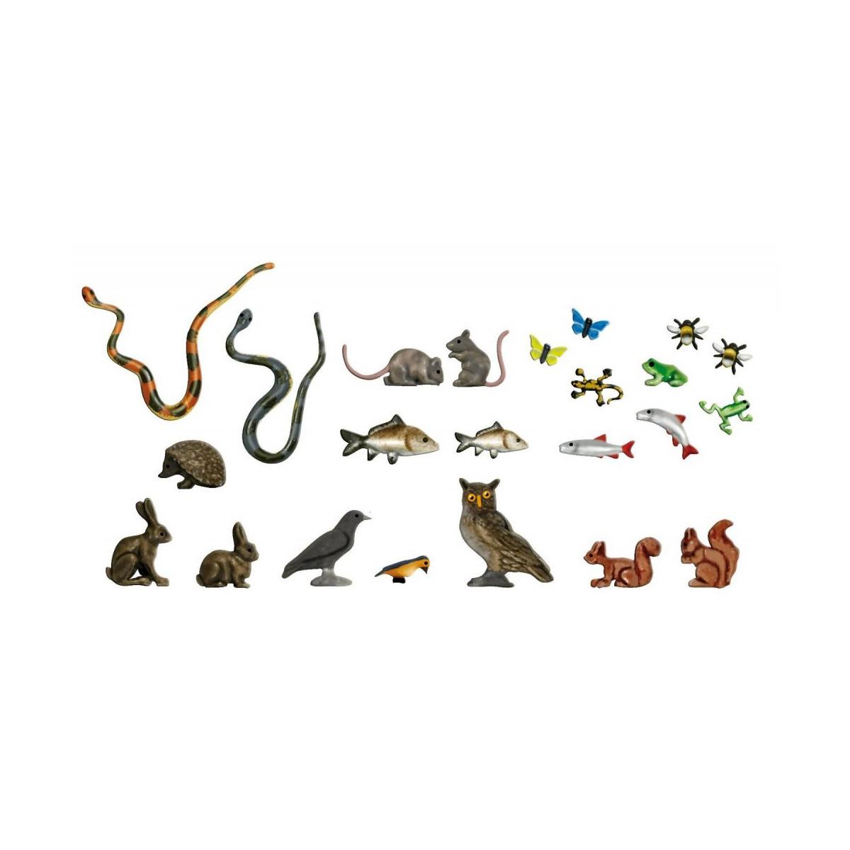 mod lisme ho figurines divers petits animaux jeux et. Black Bedroom Furniture Sets. Home Design Ideas