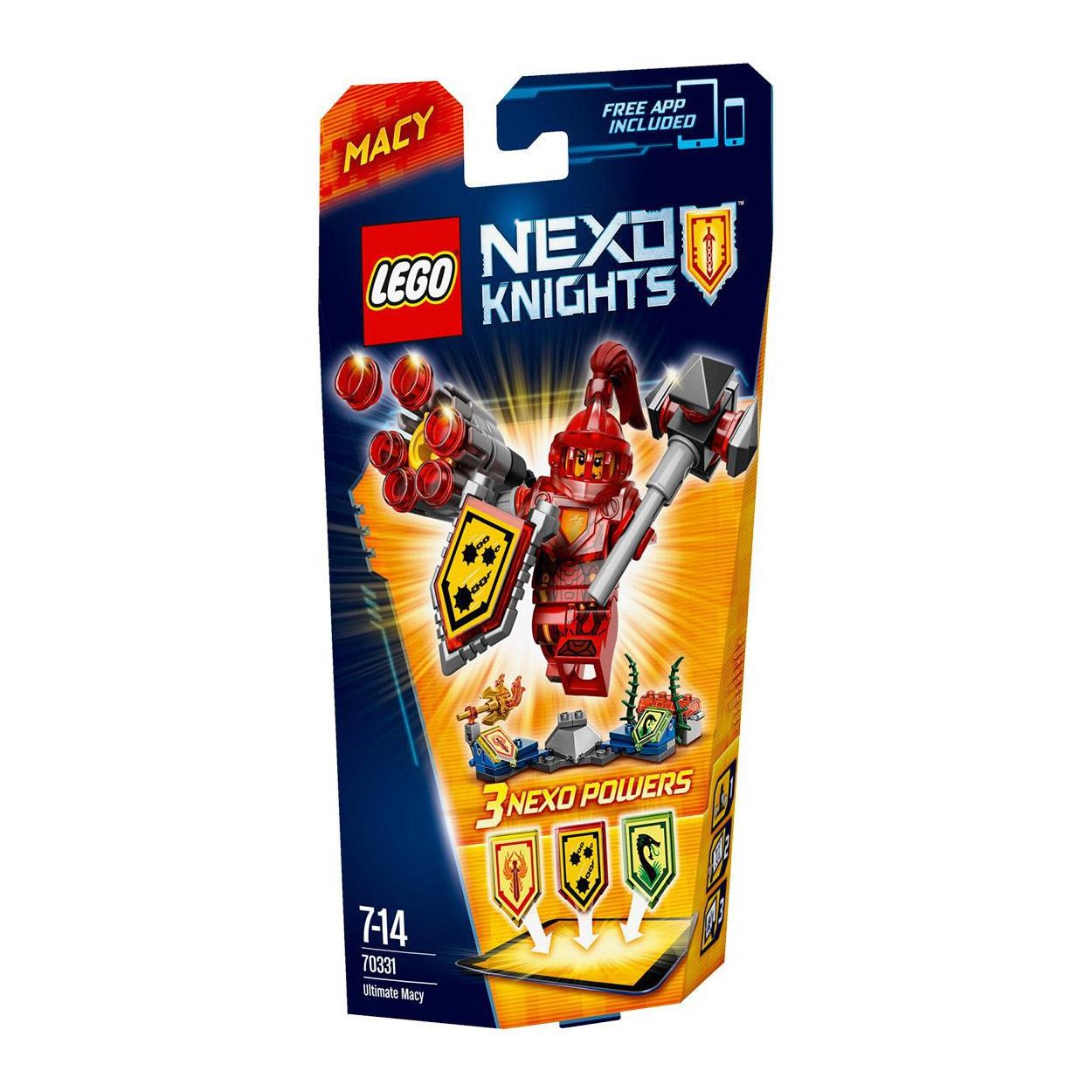 70331 Chevalier Et KnightsMacy Lego L'ultime Jouets Nexo Jeux jMLqVSUzpG
