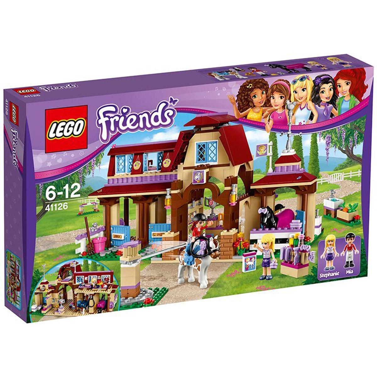 D'équitation FriendsLe Club 41126 De Heartlake City Lego 8wPnOk0
