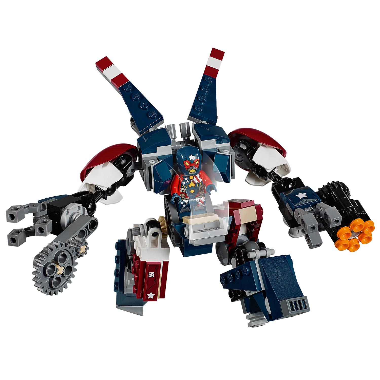 Heroes Lego® Lego® 76077 Super 76077 Marvel 8Pk0wOnX