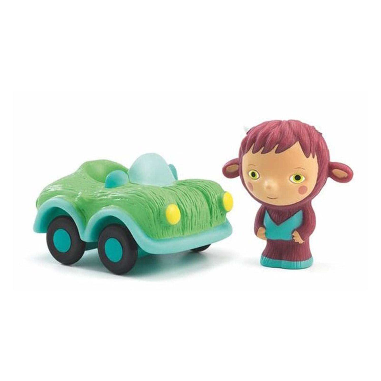 Figurine et véhicule Artychou : Bolidachou